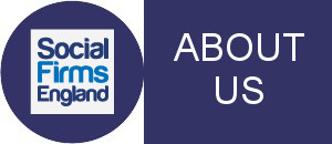 Icon with the words Join Us, and the Social Firms England logo